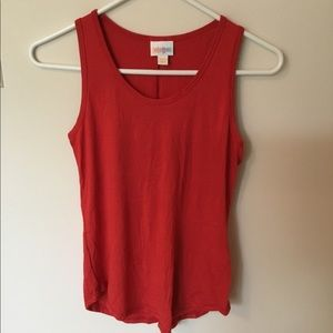 Lularoe Tank Top Red Size XXS
